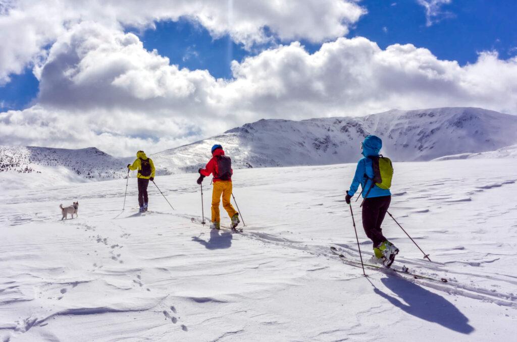 explore schi initiere in ski touring