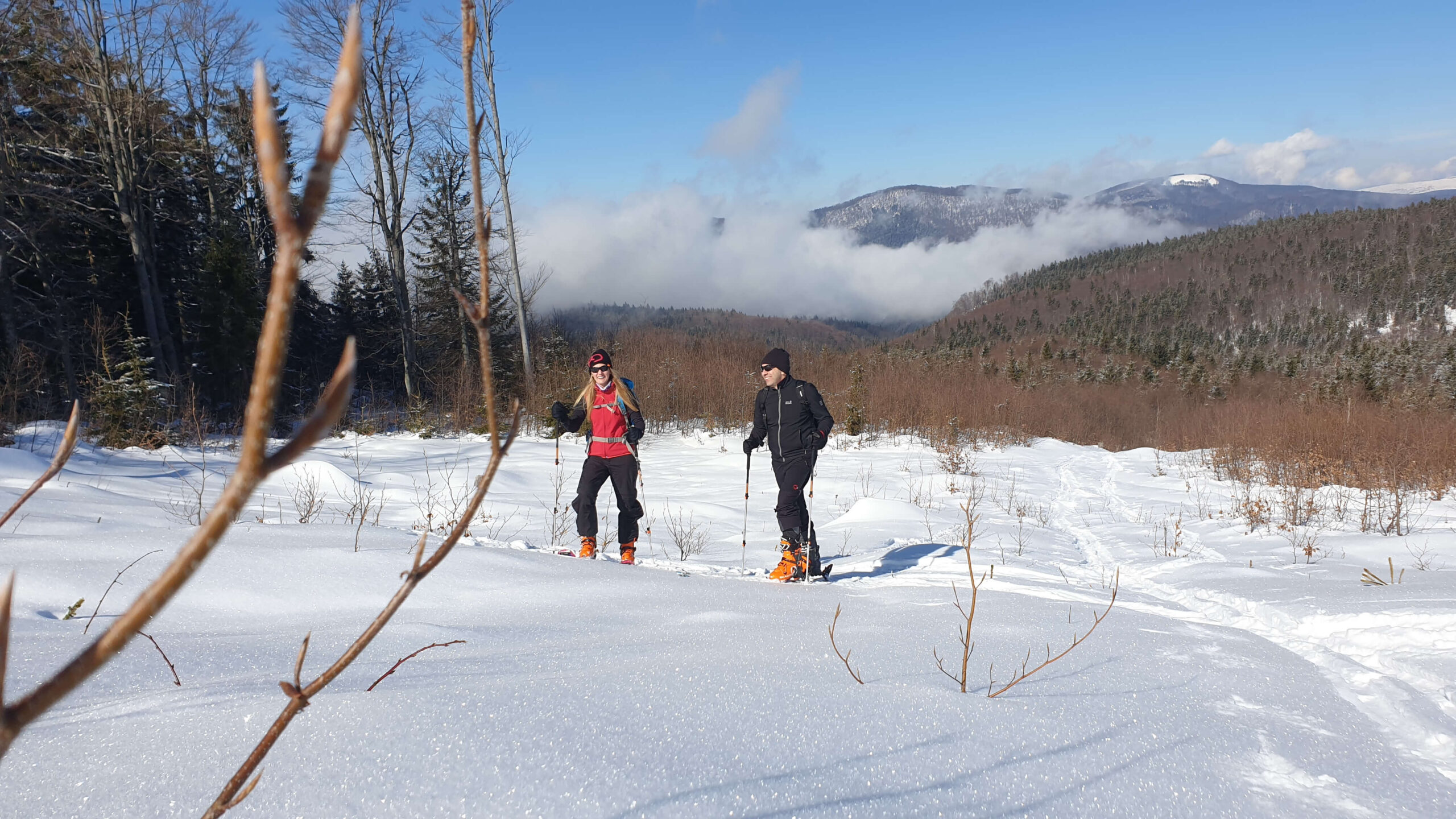 Tura ski touring muntii Ignis.