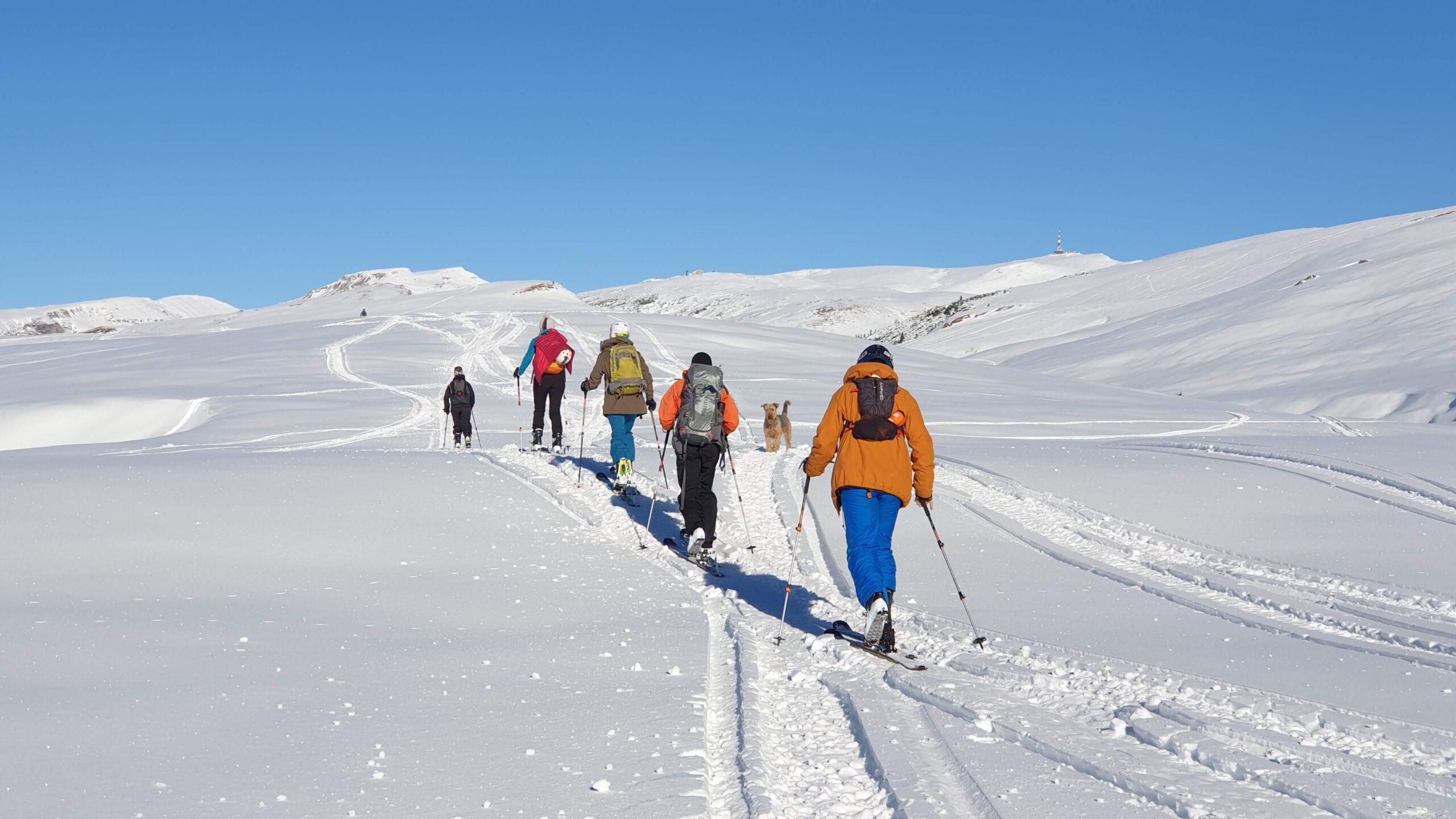 Workshop ski touring.