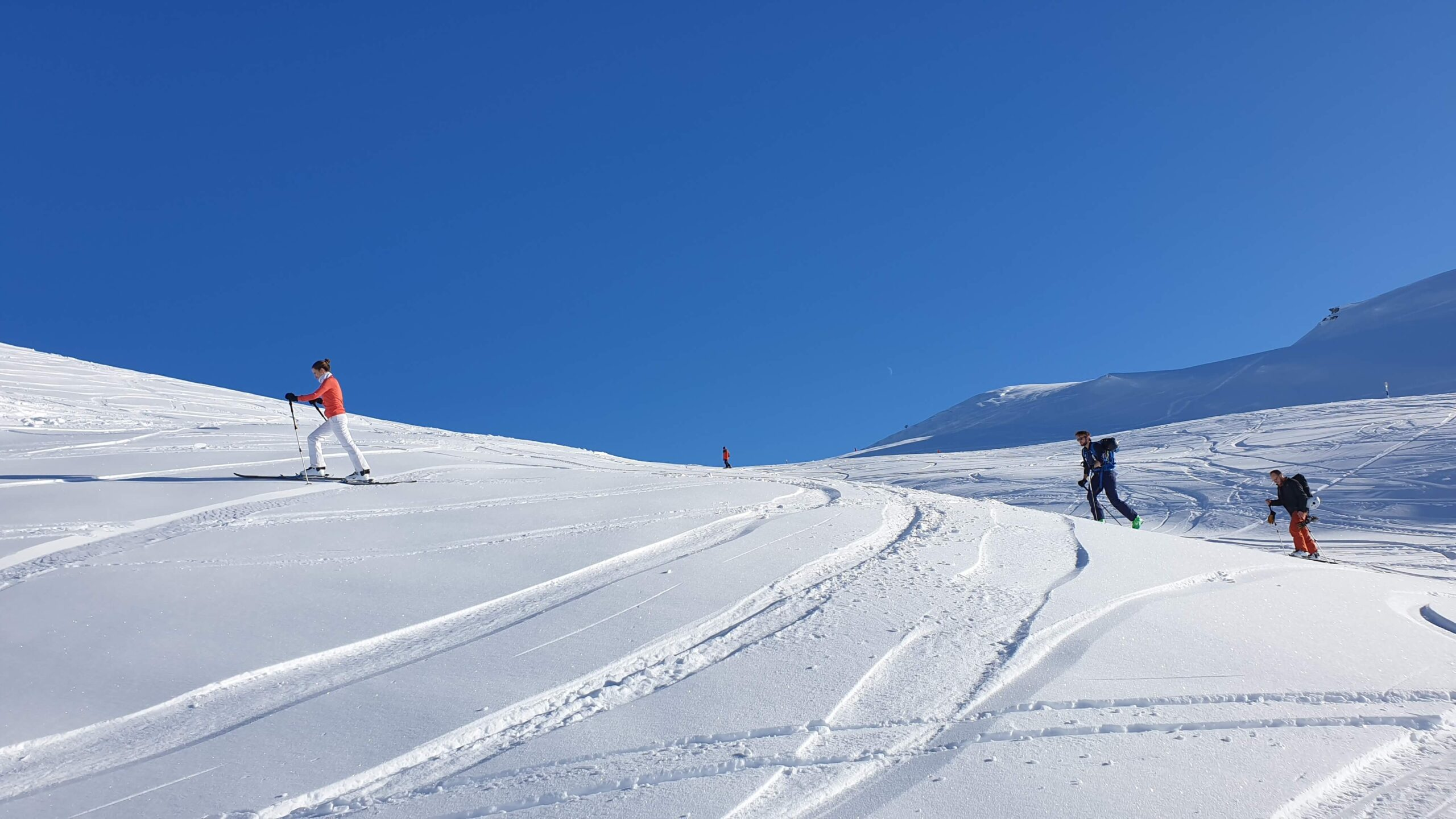 Curs initiere ski touring.